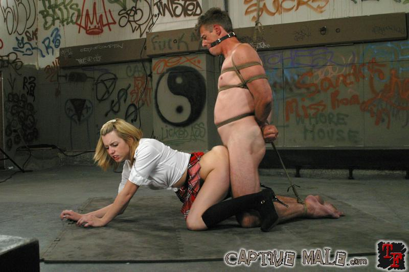 Punished to orgasm - 1 7