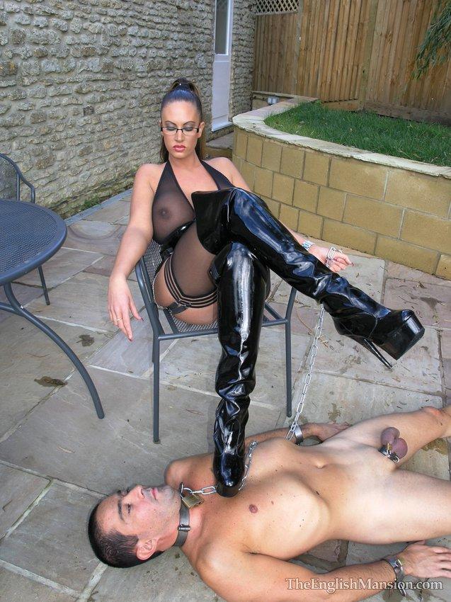 Submissive bondage husband training