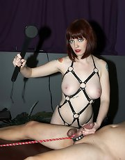 Dungeon domination and squirting with Mistress Sidney