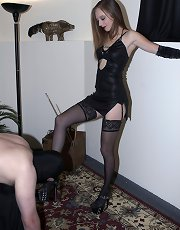 Mistress Emily in hot scene
