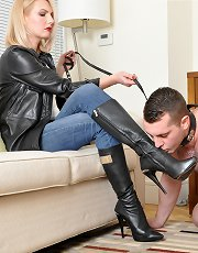Dirty Doormat Slave